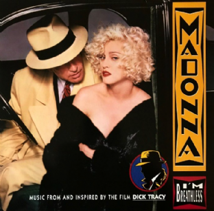 Madonna ‎- I'm Breathless: Music From And Inspired By The Film Dick Tracy (LP) (EX-/VG+)